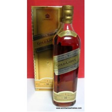 Johnnie Walker GOLD 18 Year Old Whisky Boxed