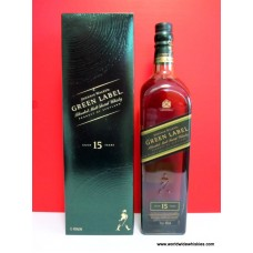 Johnnie Walker GREEN 15 Year Old Whisky 1000ml Boxed