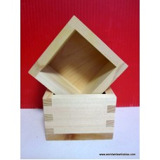 Japanese SAKE Cup - Wood MASU - for sipping SAKE