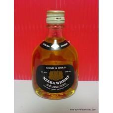 Nikka GOLD & GOLD G&G Whisky Miniature 50ml