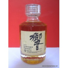 Suntory HIBIKI 17 Year Japanese Whisky Old Miniature 50ml