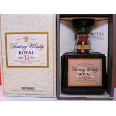 Suntory ROYAL 12 Year Japanese Whisky Silver Label Boxed
