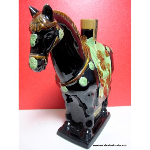 Suntory Royal Whisky 12 Year Horse Decanter Bottle Boxed