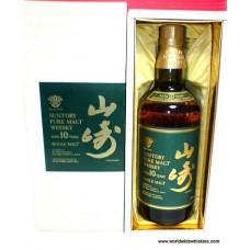 Suntory YAMAZAKI 10 Year Japanese Whisky Boxed