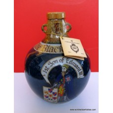 The BLACK PRINCE Rare Scotch Whisky Blue Crock 17 Year