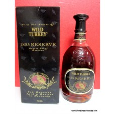 Wild Turkey 1855 RESERVE Whiskey 750ml 109.6 Proof Boxed
