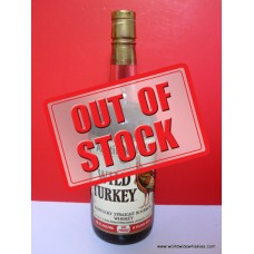 Wild Turkey 101 Proof 8 Year Whiskey 1000ml 1989