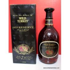 Wild Turkey 1855 RESERVE Whiskey 750ml  110 Proof Boxed