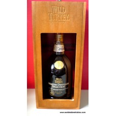 Wild Turkey MASTER DISTILLER SELECTION 14 Year Whiskey Boxed