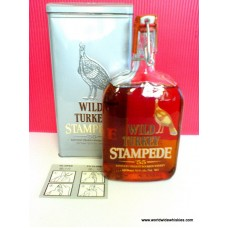 Wild Turkey Stampede 55 Whiskey Tin Boxed